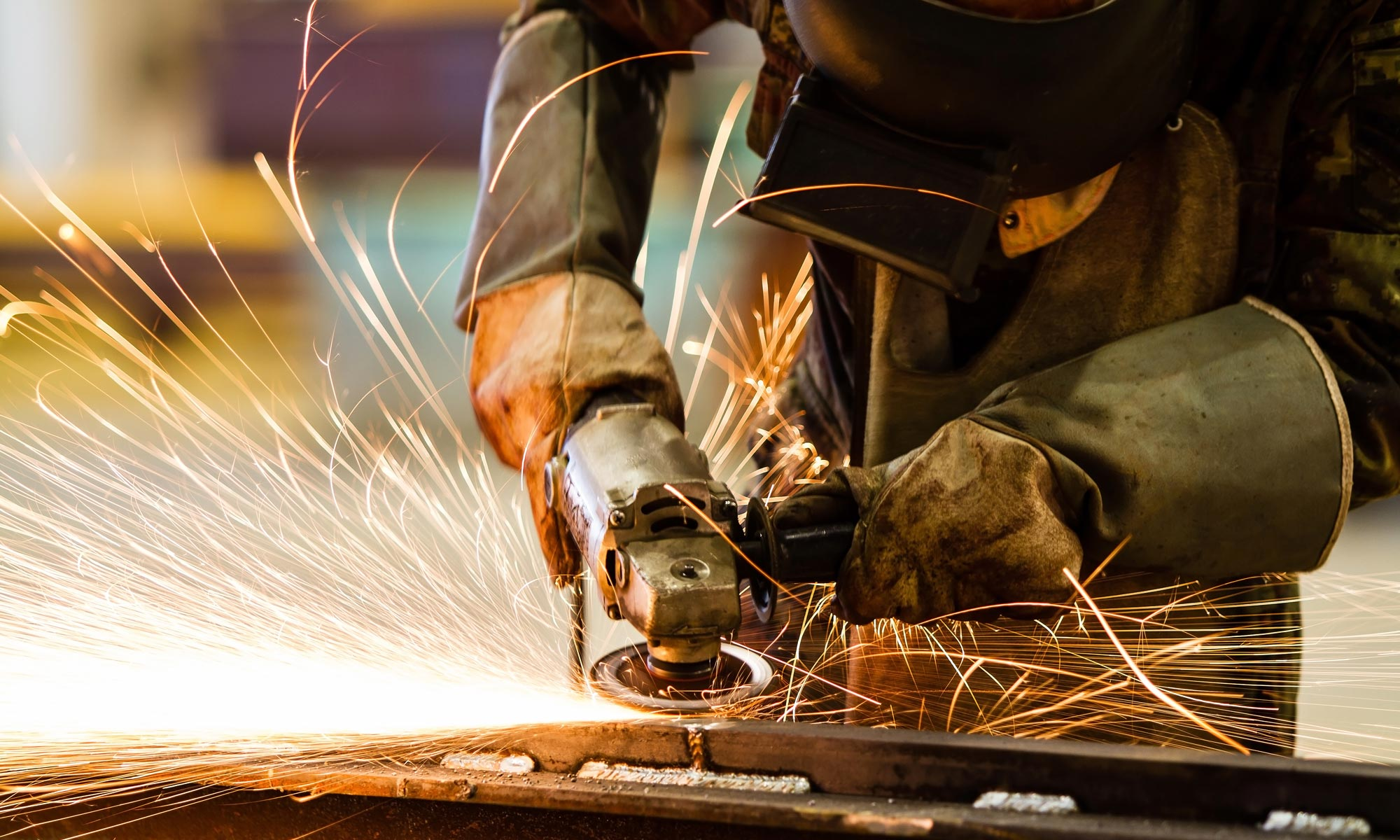 Metal grinding and fabrication